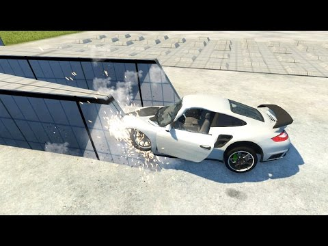 full download beamng drive alpha porsche 911 gt2 crash testing 2. Black Bedroom Furniture Sets. Home Design Ideas