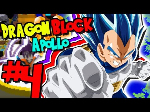 *NEW* FORM: SUPER SAIYAN BLUE EVOLUTION! | Dragon Block C: Apollo (Minecraft Modpack) - Episode 4