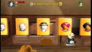 LEGO Indiana Jones: All Characters Unlocked