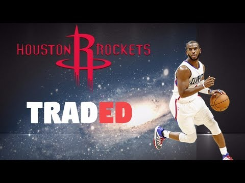 CHRIS PAUL TRADED TO THE HOUSTON ROCKETS!! - NBA 2K17 MyPark Gameplay