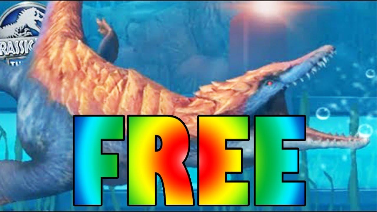 RHOMALEOSAURUS GLITCH FOR FREE?!? - Jurassic World - VIP