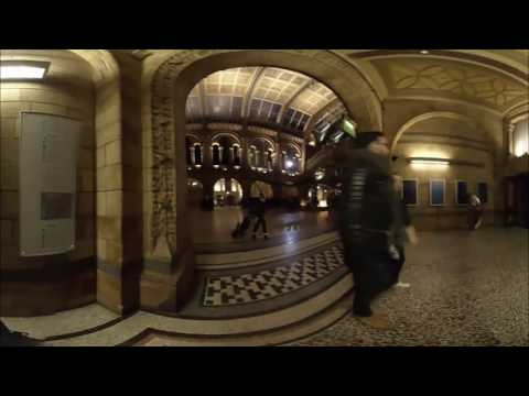 Natural History Museum 3D 360° VR : bid adieu to Dippy the Dinosaur & Darwin