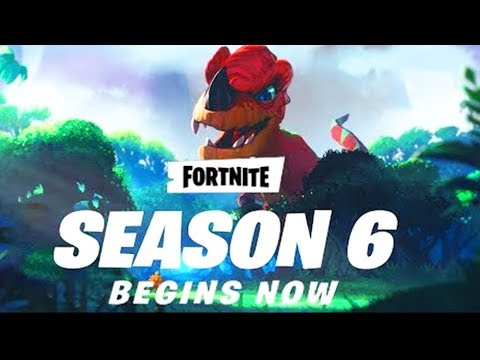new fortnite update out now new season 6 is starting fortnite battle royale - what time will the new fortnite update come out