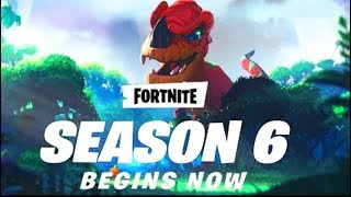 "NEW FORTNITE UPDATE OUT NOW! NEW ""SEASON 6"" IS STARTING! (FORTNITE BATTLE ROYALE)"