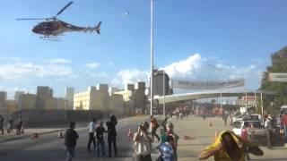 Queda viaduto Belo Horizonte - M.G resgate bombeir