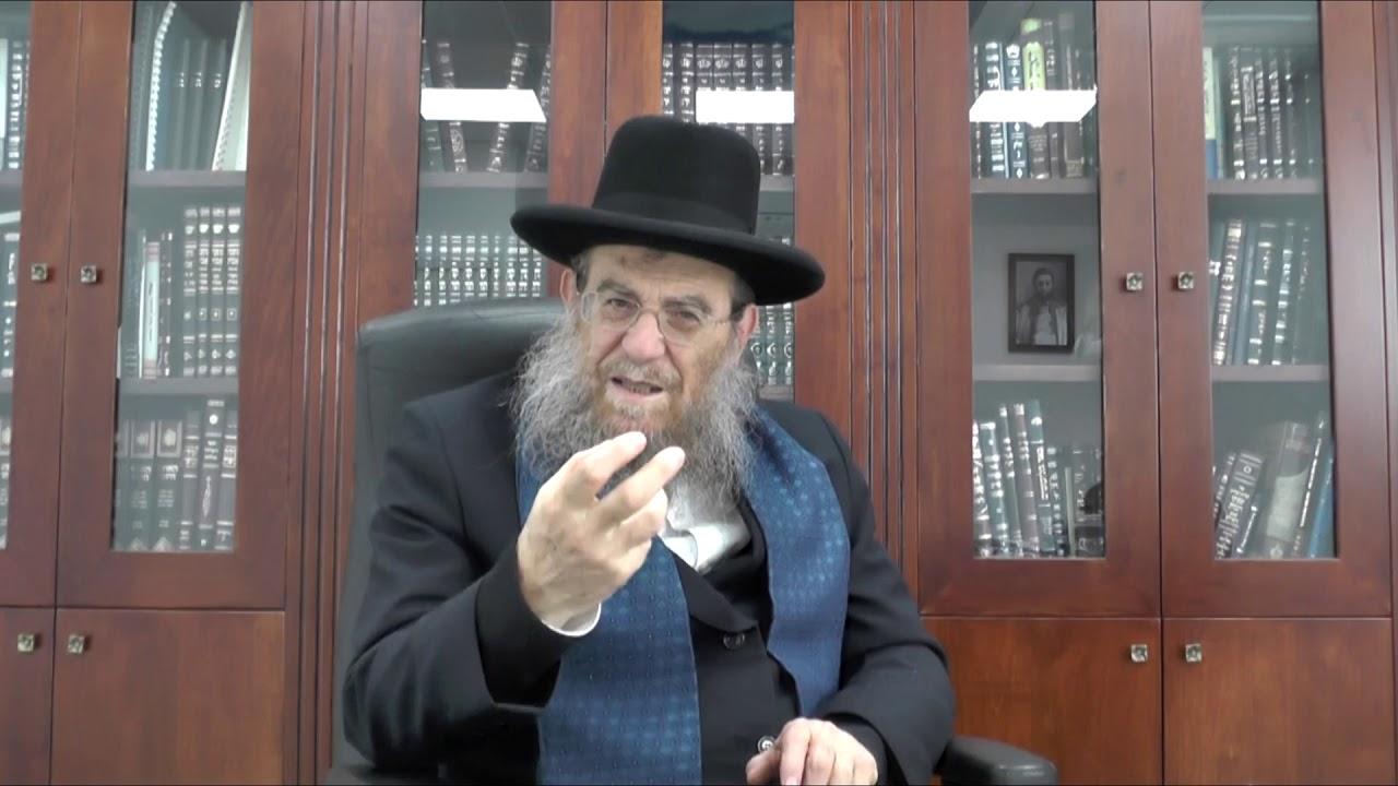 """הגאון הגדול הרב יצחק ברדא שליט""""א - פרשת שמיני"""