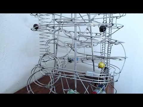 Rolling Ball Sculpture #277 - Motorized Tabletop - For Sale!