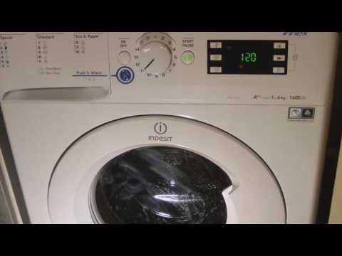 """Washing Machine Indesit XWE 61452 - """"Program 11"""""""