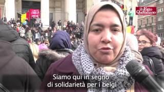 """Attentati, Bruxelles, cittadini sfidano il terrore: """"Continueremo a uscire a bere e fumare"""""""