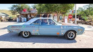 Turbo LS-powered Aussie Valiant on Route 66
