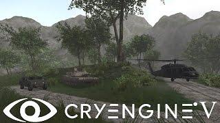 Cryengine V / 5 #47 Добавление транспорта, Vehicle. автомобиля, танка, машины, вертолета. Vehicle