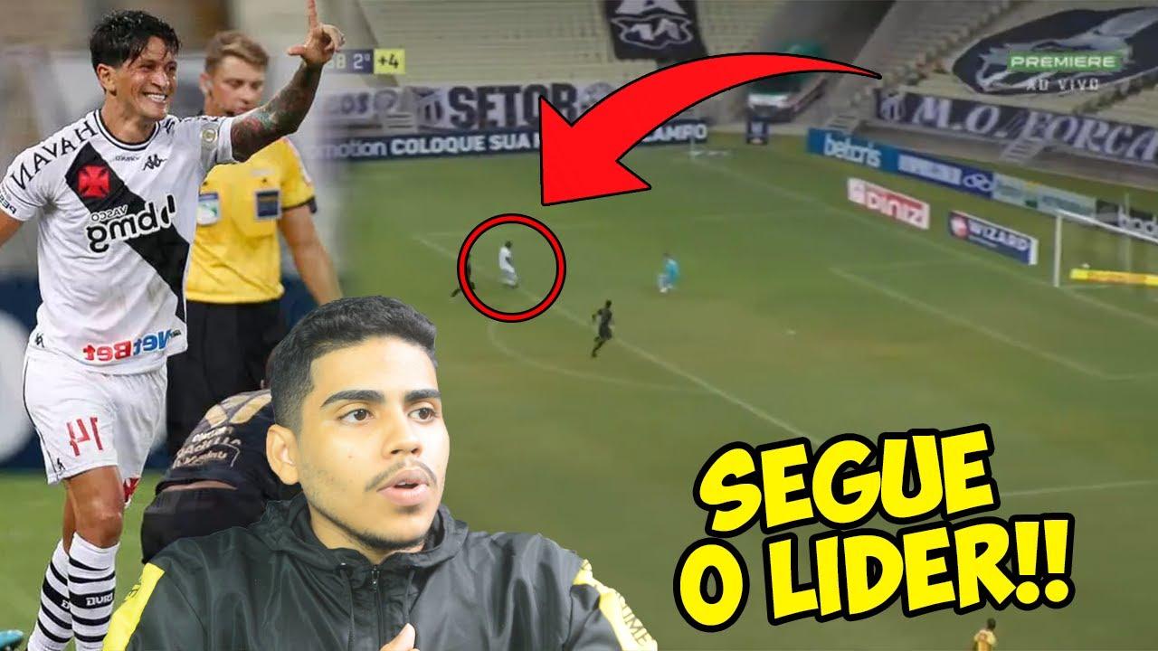 Segue O Lider Vasco E O Lider Do Brasileirao 2020 Analise Vasco X Ceara Youtube