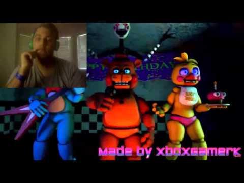 """(SFM-FNAF2) (Collab w/XboxGamerK) """"Hide Behind The Mask"""" REACTION"""