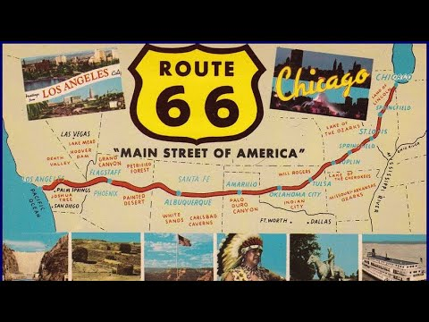 (Get Your Kicks On) Route 66 By Chuck Berry