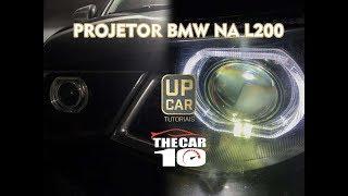 Projetor BMW na  L200 Triton!