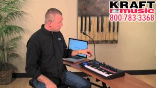 Kraft Music - Novation UltraNova and MiniNova Synthesizers with Paul Heyerdahl