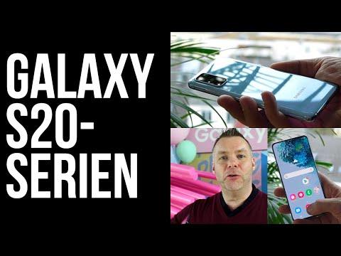 Samsung Galaxy S20 Ultra, S20+, S20 | Første kig | Se 100x zoom