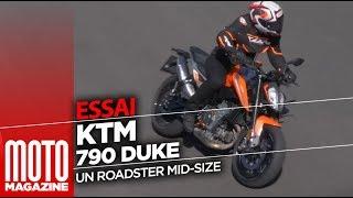 KTM 790 DUKE - Essai Moto Magazine 2018