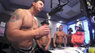 Hot Shirtless Firefighters Tell A Story