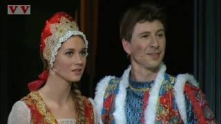 """Кристина Асмус в спектакле """"Весна священная"""". Большой театр."""