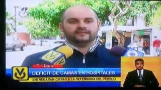 Denuncia Sistema Hospitalario en Ciudad Guayana Mun. Caroni 1er Parte