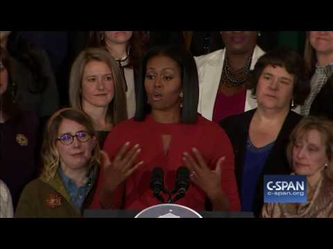 Complete Final speech by Michelle Obama as First Lady (C-SPAN)