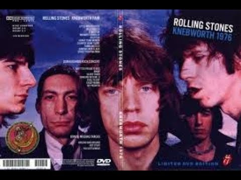 THE ROLLING STONES - BLACK AND BLUE EUROPEAN TOUR CONCERT 1976 PROSHOT