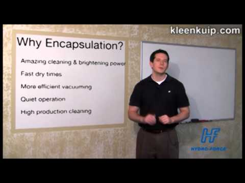 Encapsulation How To - Dry Carpet Cleaning - Very Low Moisture VLM