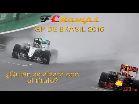 F1CHAMPS 2016   F1   RETRANSMISIÓN GP DE BRASIL