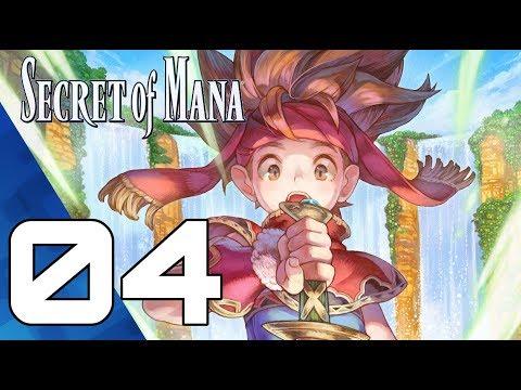 SECRET OF MANA Episode 04 2018 HD Remake PS4 Pro
