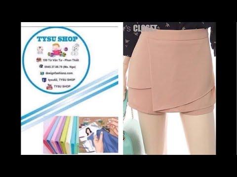 475-thiết Kế Short Váy|dạy Cắt May Online Miễn Phí | Sewing Online Class Free | Tysushop