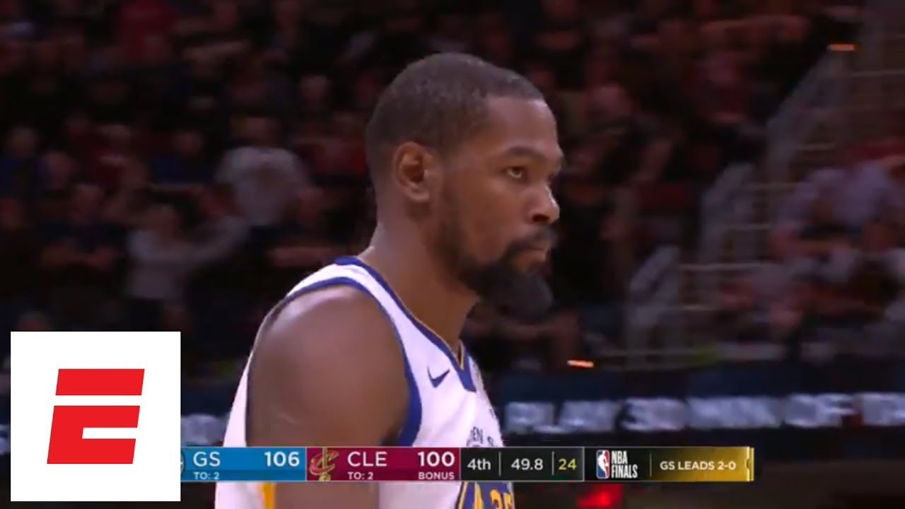 ca221fde20e7 Kevin Durant s  deja vu  dagger from Game 3 of 2018 Finals  All the angles