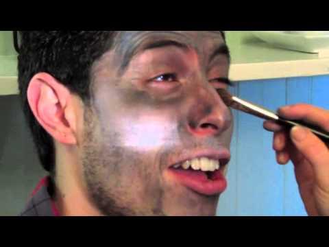 quick easy werewolf makeup for halloween  youtube