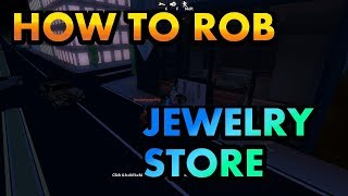 ROBLOX JEWELLERY STORE ROB (jailbreak part 1)