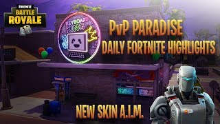 NOUVEAU fuite A.I.M. Hunting Party Skin! Faits saillants quotidiens de Fortnite