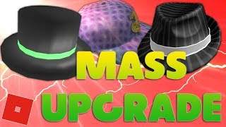 Mass Upgrading My Limiteds | Roblox Trading