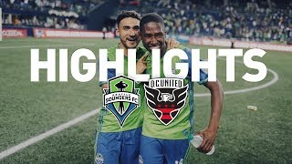 Highlights: Seattle Sounders FC vs D.C. United | July 19, 2017
