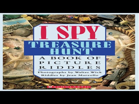 📚 I SPY Treasure Hunt A Book Of Riddles Read Aloud Books For Children Bedtime Stories