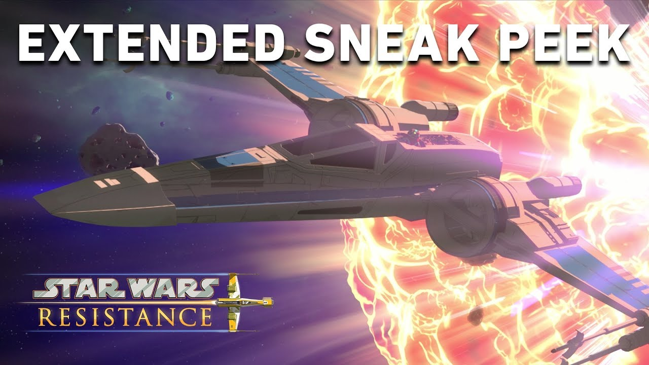 Extended Sneak Peek | Star Wars Resistance #1