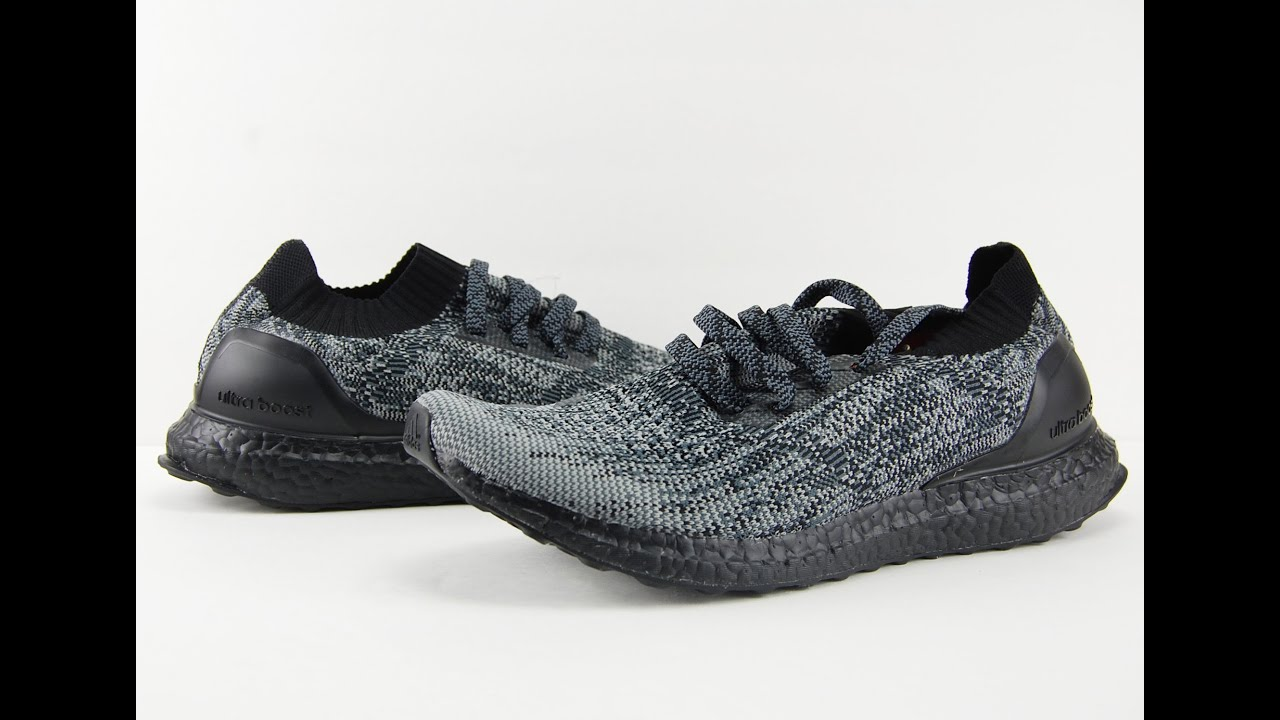 official photos 48efe 072e6 adidas Ultra Boost Uncaged Color Boost Midsole Pack Black + On Feet