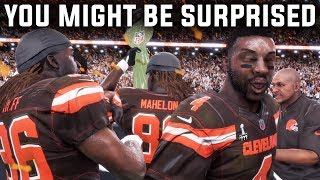 HOW LONG DOES IT TAKE THE BROWNS TO WIN A SUPER BOWL IN MADDEN? | Madden 18 Franchise Experiment