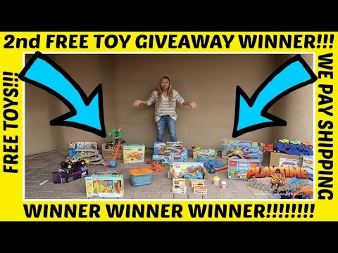 2nd FREE Giveaway WINNER!!!! | Playtime With Parker | Children's Fun & Learning