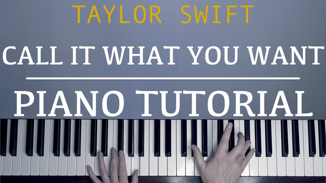 Taylor swift new year's day easy piano tutorial youtube.
