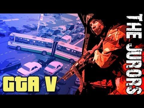 GTA 5 Online Gameplay - The Verdict is in; YOU'RE DEAD!