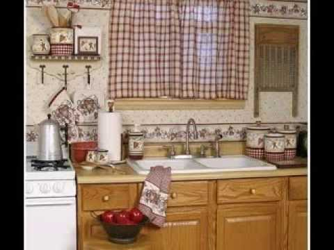 Country kitchen curtains design decorating ideas youtube - Country kitchen curtain ideas ...