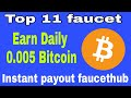 bitcoin bch faucet 51840 satoshi per Day! instant withdraw faucethub.io