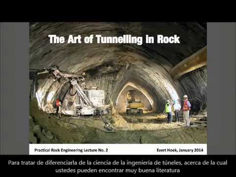 The Art of Tunneling in Rock - Spanish Subtitles