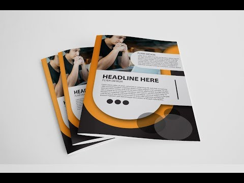 Adobe Illustrator Tutorial | How To Design A Flyer | Meugah Studio thumbnail