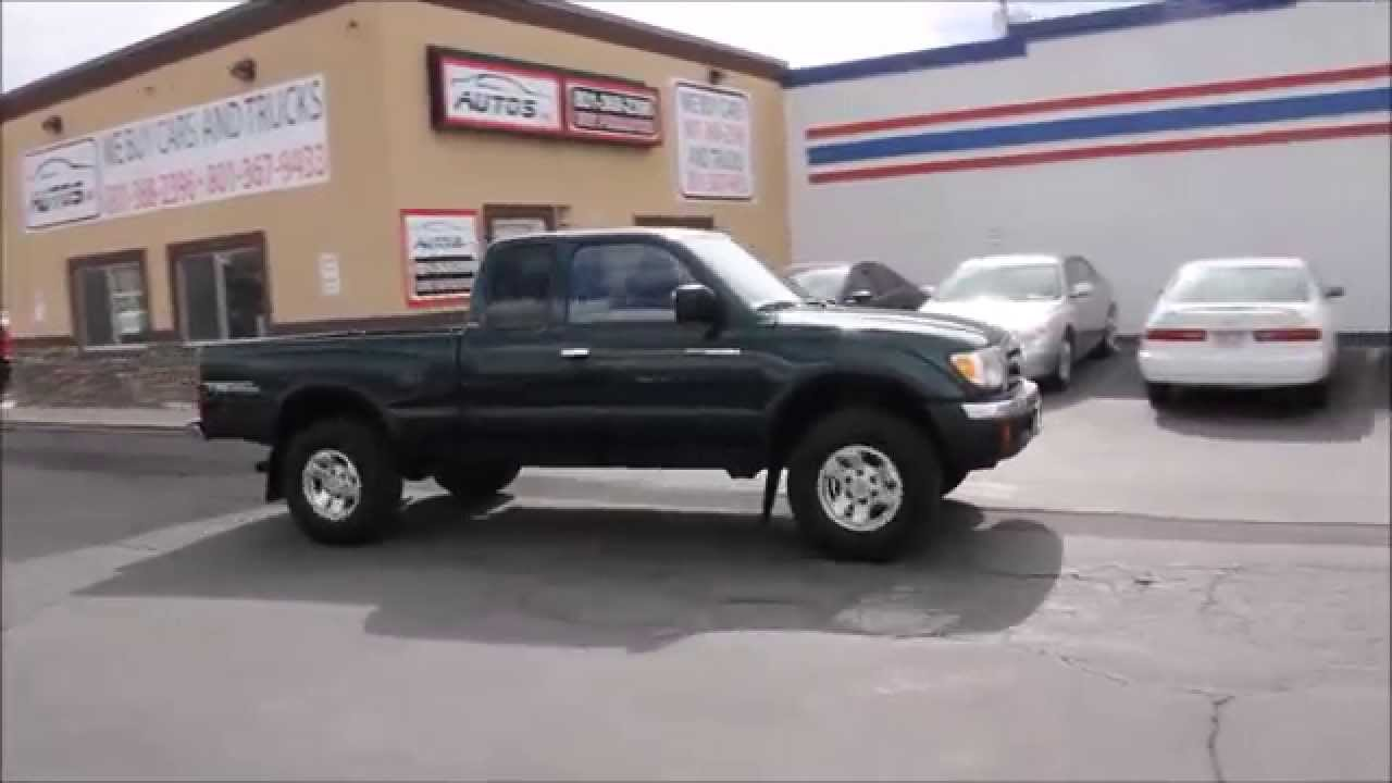2000 Toyota Tacoma Sr5 Trd Off Road Locking Rear