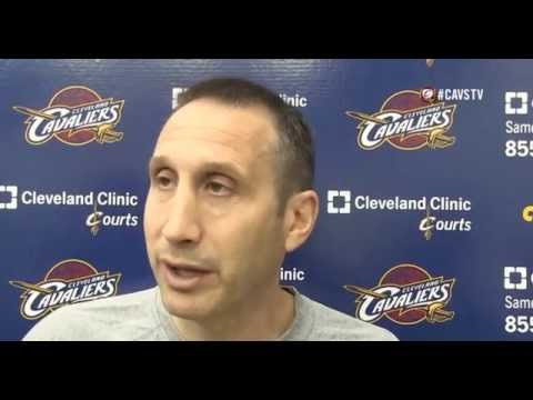 ★ Coach David Blatt Interview after Today's Practice - Cleveland Cavaliers